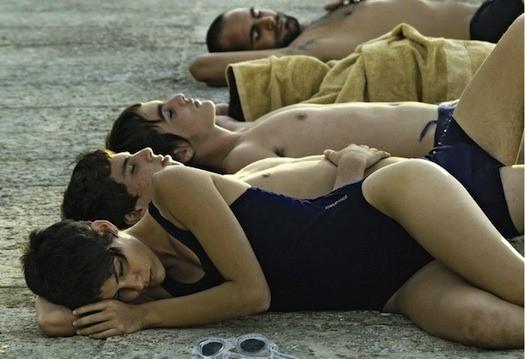 Escena de La piscina