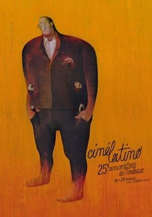 Cartel de Cine latino en Tolouse