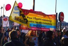 Antonio Garcia: Manifestación en apoyo al matrimonio igualitario en Francia.