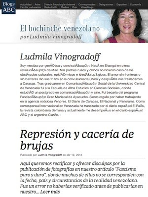 Ludmila Vinogradoff blog ABC