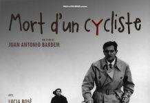 cartel de Muerte de un ciclista en Francia