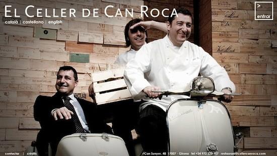 Los hermanos Jordi, Joan y Josep Roca. El Celler de Can Roca