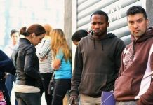 Trabajadores parados en España