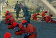 Prisioneros en Guantánamo