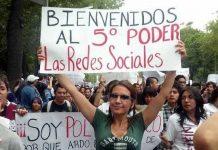 jovenes y electores en las redes sociales