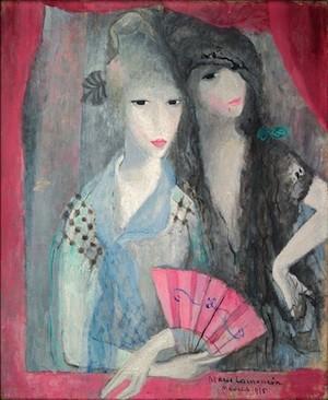 Laurencin: Les deux Espagnoles, 1915. Adagp