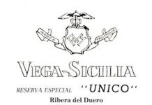 Etiqueta de un Vega Sicilia Reserva Especial