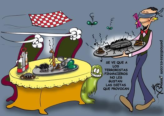 Terroristas financieros y dietas