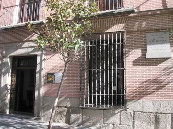 Casa de Lope de Vega en la calle Cervantes de Madrid
