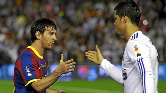 Mesi y Ronaldo