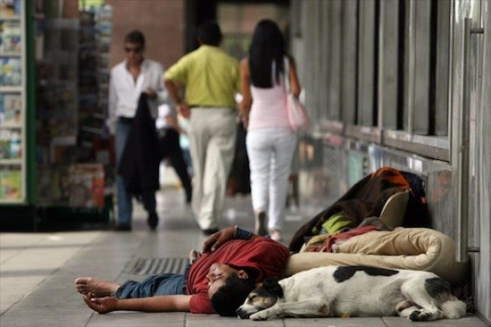 Sin techo en Argentina