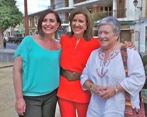 """Begoña Tormo, Ana Kringe y María Rosa Medel. """"Cocinan los alcaldes"""". Canal Cocina en Dénia. 28 de mayo de 2013. (C) Manuel López"""