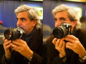 Bernard Plossu. Foto Javier-Vila, lacavernadealuz