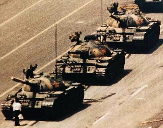 (C) Charlie Cole. Plaza de Tiananmen, Pekín, 5 de junio de 1989