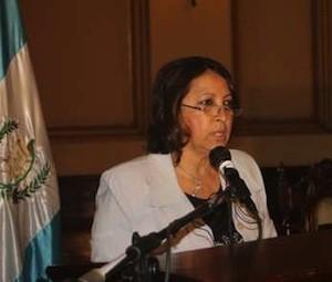 Ileana Alamilla, directora de Cerigua, en Ginebra