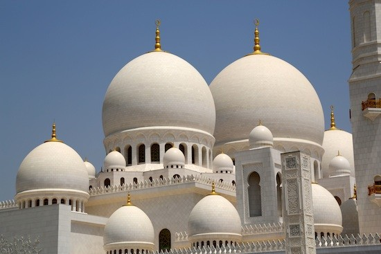 Sheikh Zayed Grand Mosque, la mezquita blanca