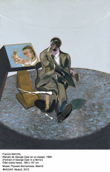 George Dyer por Francis Bacon