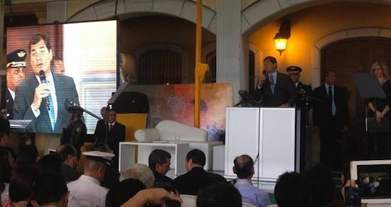 Rafael Correa en Cupre 2013