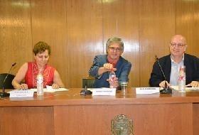 Elsa González, Nemesio Rodríguez y Mariano Rivero