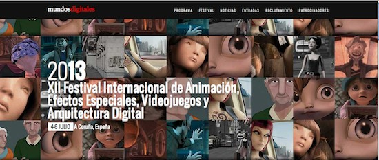 Festival Mundos Digitales. 12 Edición. A Coruña