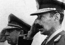 Militares golpistas en Argentina en 1976