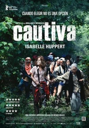 cartel cautiva Isabelle Huppert cautiva