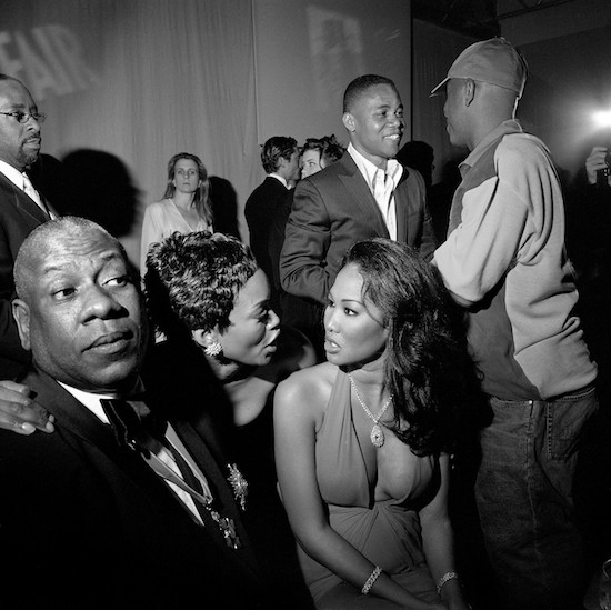 47. Oscar Party Cuba Gooding Jr. Angela BassettKimora Lee SimmonsRussell Simmons 3 02 12 15 W  550 Larry Fink, The Vanities, Hollywood Parties 2000 – 2009