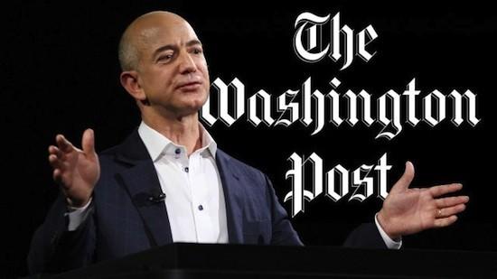 Jeff Bezos compra El Washington Post