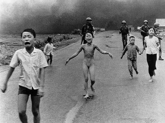 Kim Phuc, Vietnam, 8 de junio de 1972. tFoto Nick Ut