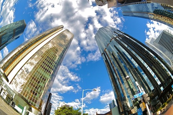 Imagen obtenida con el nuevo objetivo Samsung ojo de pez 10 mm f/3,5