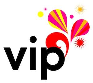 logo 'vip'
