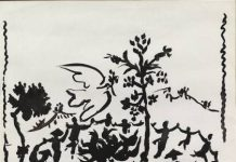 A danza, Pablo Picasso, Litografía, 1957. © Sucesión Pablo Picasso, VEGAP, Madrid, 2013
