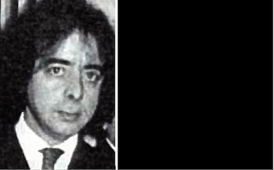 José Antonio González Pacheco, alias'Billy El Niño'. Al lado, mi 'no foto' del Primero de Mayo de 1976 en Madrid después de que me reclamara el carrete de película a punta de pistola