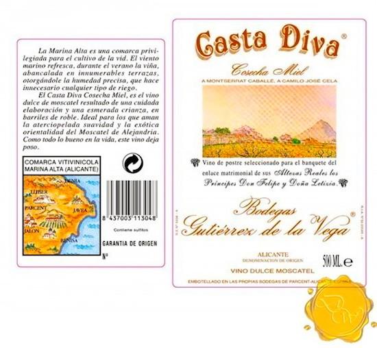 Casta Diva Cosecha Miel. Felipe Gutiérrez de la Vega