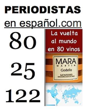 80 vinos - Vino 25 - 122 países a los que llegamos con Periodistas en Español