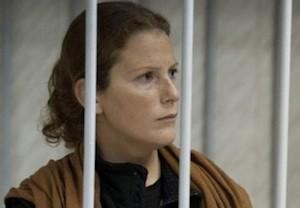 Ana Paula br greenpeace Ana Paula atrapada en una cárcel rusa por el Ártico