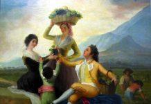 Francisco de Goya. La vendimia o El otoño, 1786-87