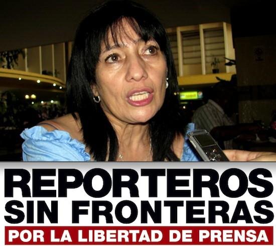 Itsmania Pineda RSF 550 Honduras: RSF apoya a Itsmania Pineda