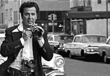 Ron Galella tras Jackie Kennedy (detalle)