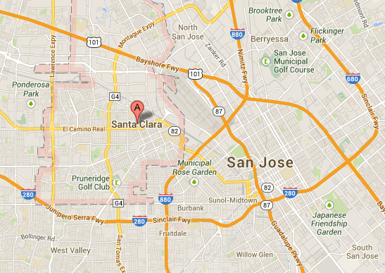 Santa Clara (California), sede del tribunal referencia de Facebook