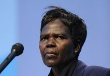 Dra. Agnes Aubom, moderadora del Consejo Mundial de Iglesias (CMI)