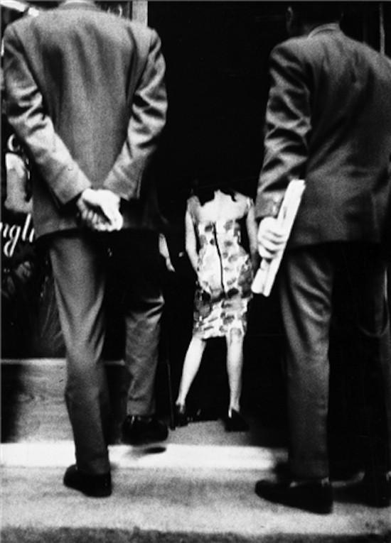 oan Colom. La calle, hacia 1960-1961. Donación del autor. Museu Nacional d'Art de Catalunya, Barcelona © Joan Colom