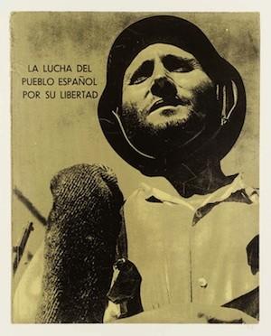(35) La Lucha del Pueblo Espanol por La Libertad 1969-70 by R.B. Kitaj 1932-2007