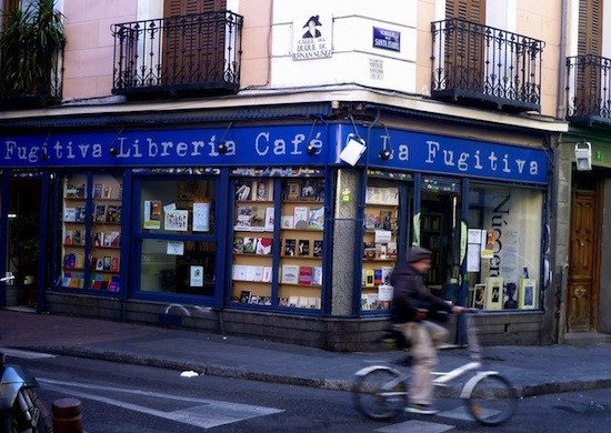 Librería la fugitiva Madrid Texto potestad