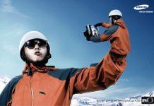 Publicidad de cámaras Samsung (función autorretrato -'selfie'-)