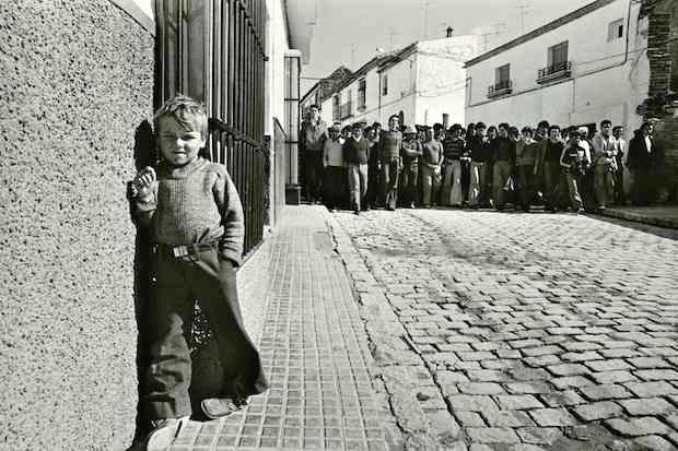 (C) Manuel López. Manifestación de jornaleros en Lebrija (Sevilla), 1978