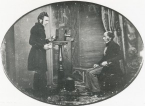Daguerrotypist bei der Arbeit 1843 La fotografía celebra su 175 aniversario