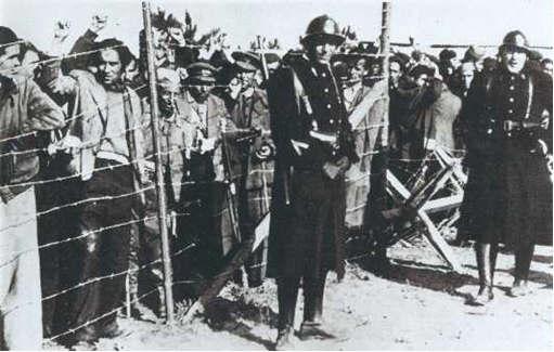 Campo Argeles sur mer Francia: 75 aniversario de La Retirada de los republicanos españoles