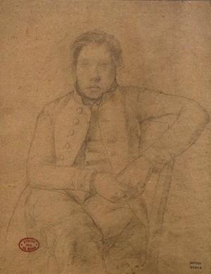 Edgar Degas Achille De Gas 1853 Edgard Degas íntimo en la Fundación Canal