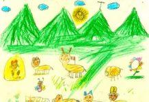 'La Inocencia de las Montañas', vista por niños de Dénia y el Perú (en la imagen)